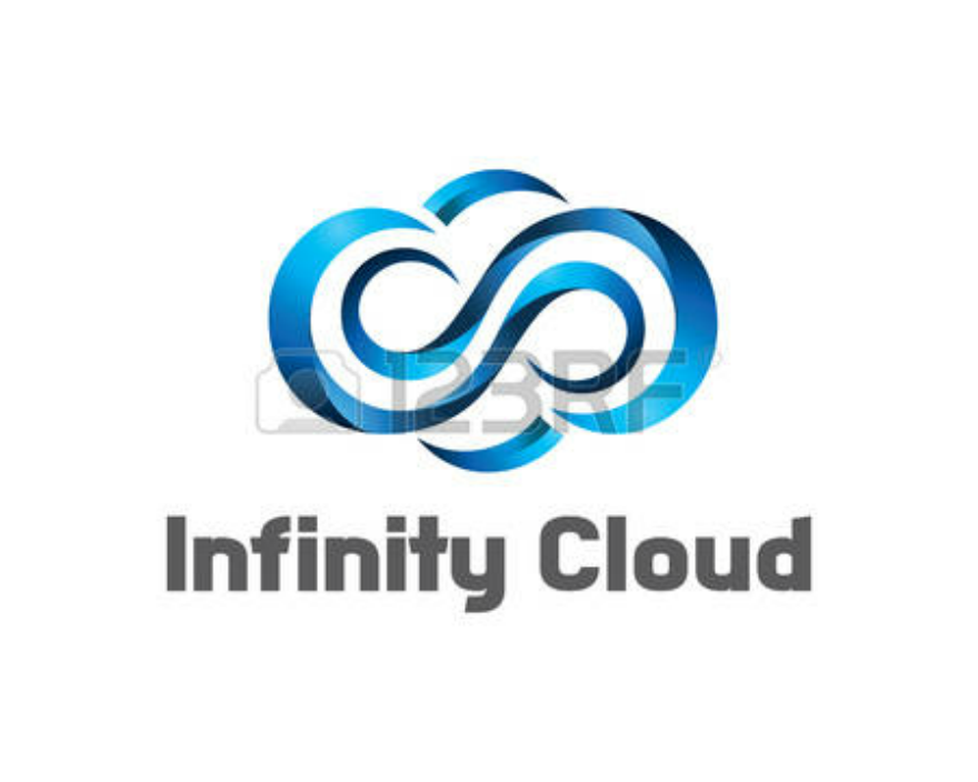 Infinity Cloud Logo Design