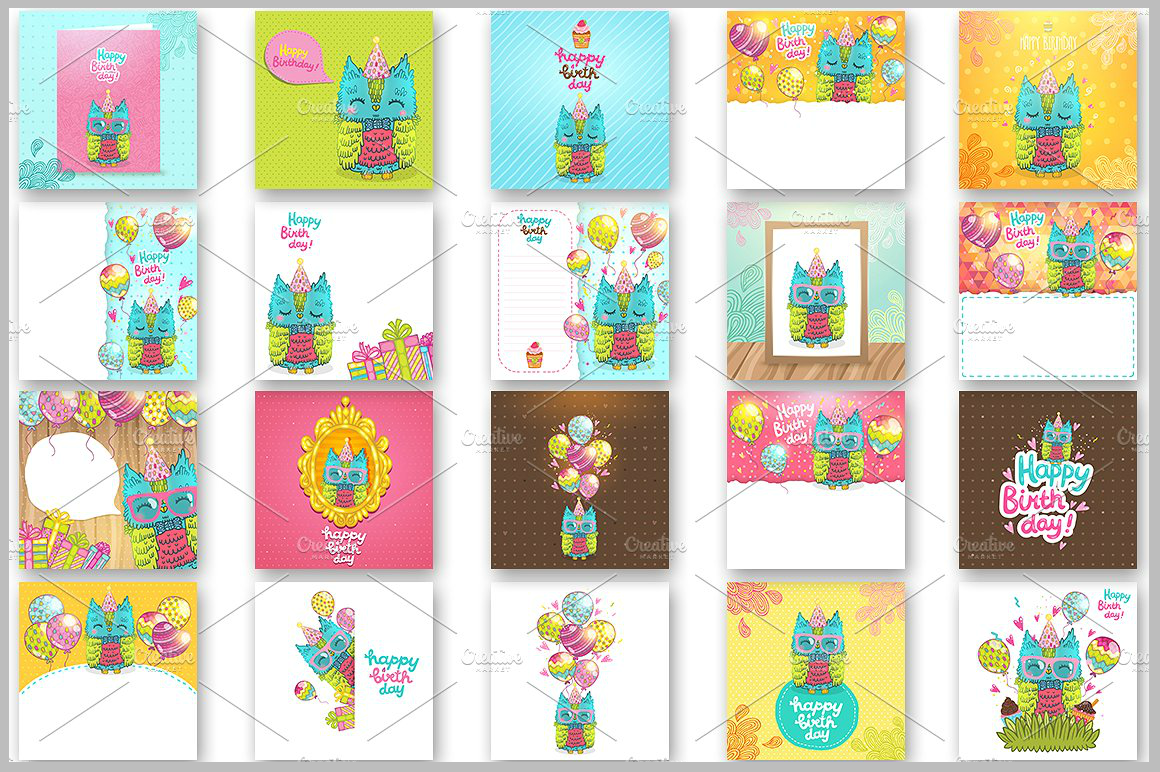 Owl-Birthday-Greeting-Card