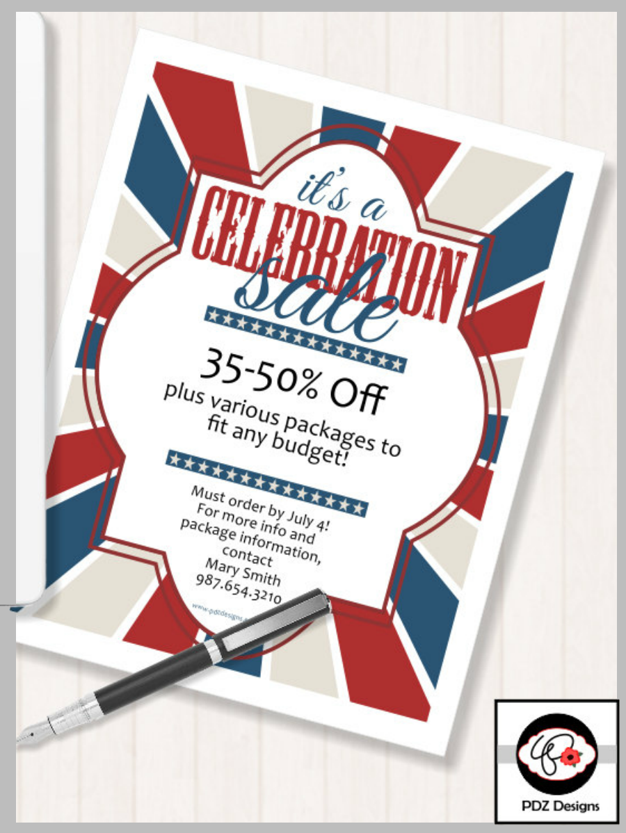 patriotic labor day sale banner