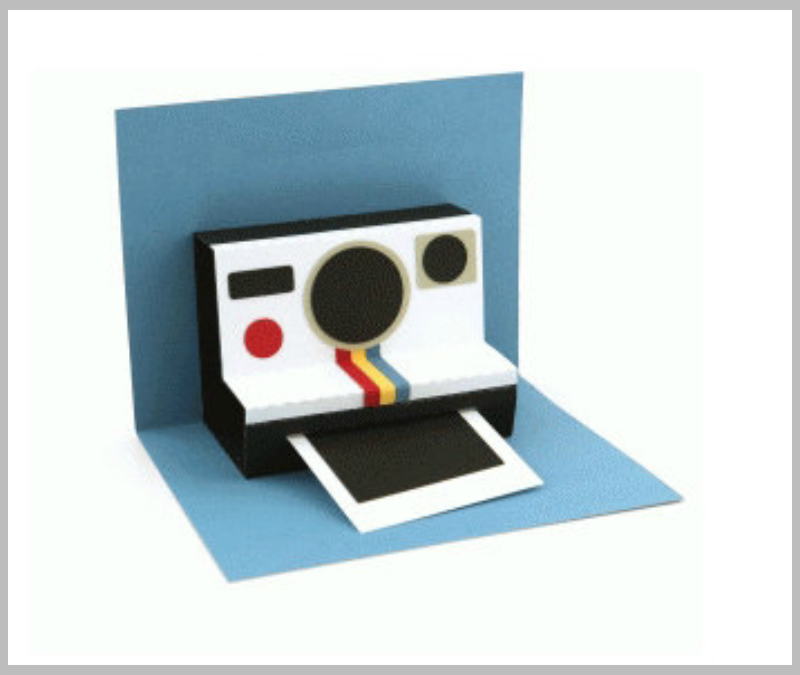 Retro-Polaroid-Camera-Pop-Up-Card