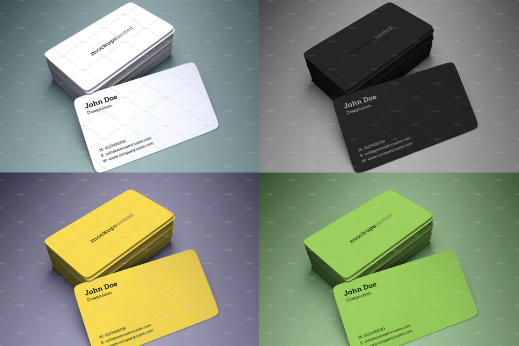 rounded corner printable business card 1024x682