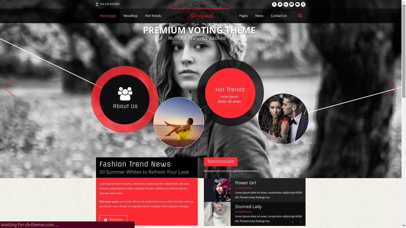 Trendy Pre-Built Websites