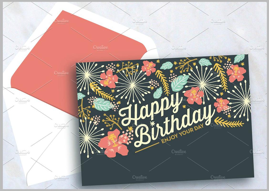 Sweet-Happy-Birthday-Card-Psd