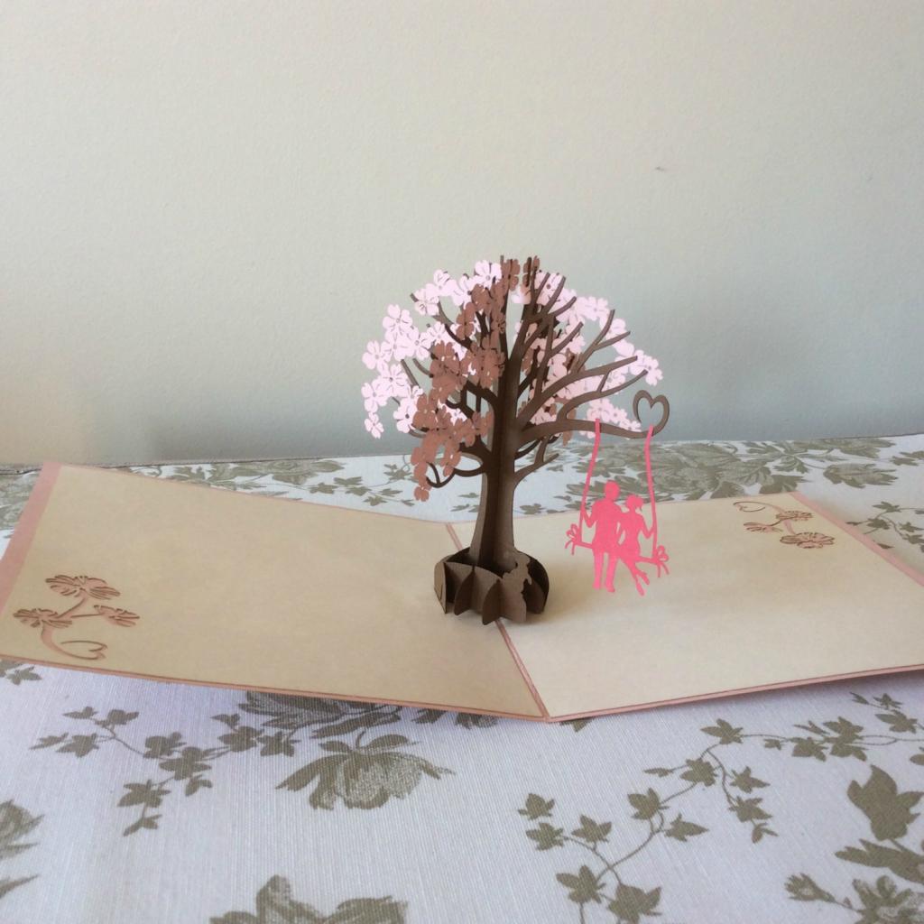 Swing Tree Pop Up Card