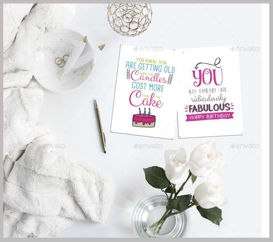 Typographic-Birthday-Greeting-Card-Psd