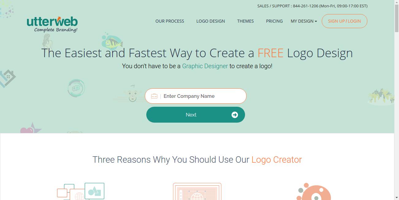 UtterWeb.com Logo Maker