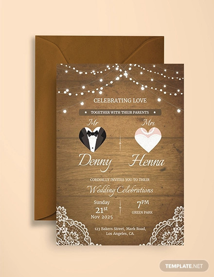 10+ Vintage Invitation Card Designs PSD AI InDesign