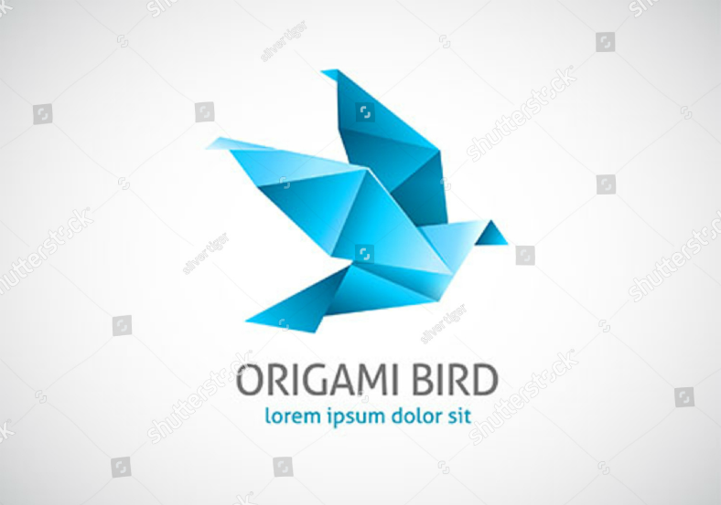 11+ Beautiful Origami Logo Designs | Design Trends ...