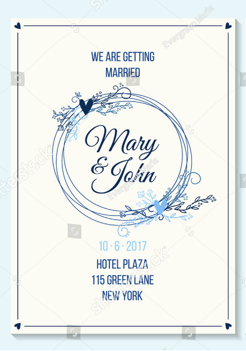 40+ Wedding Invitation Designs | Design Trends - Premium PSD, Vector ...
