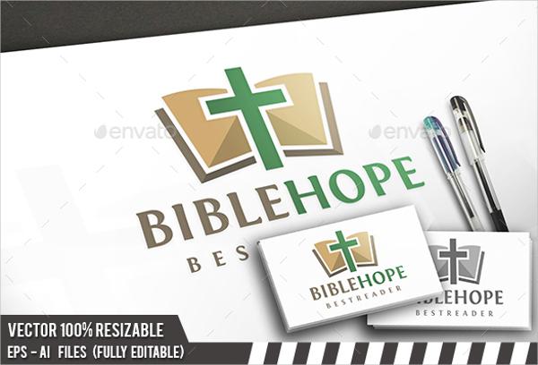 Bible Hope Church Logo Design
