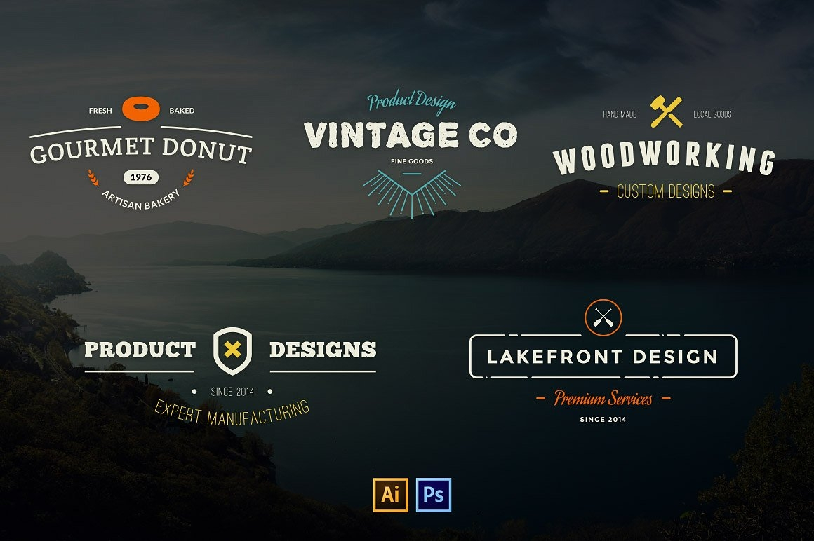 customizable vector logo designs