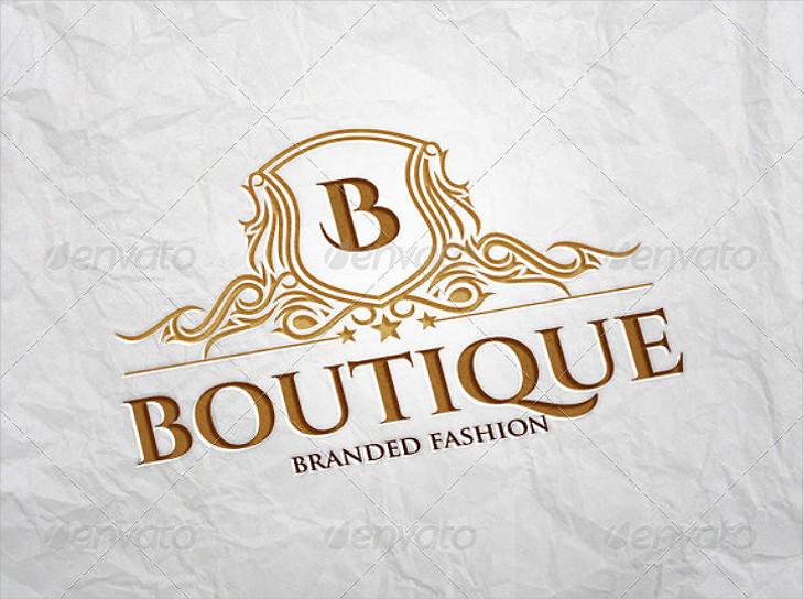 Elegant Lettermark Emblem Boutique Logo