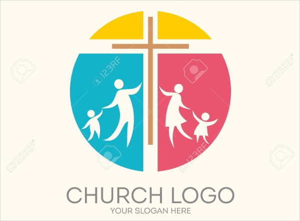family church logo design