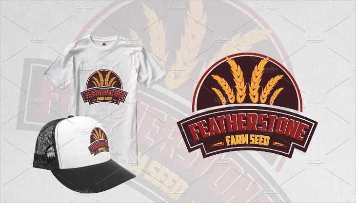featherstone farming logo designs