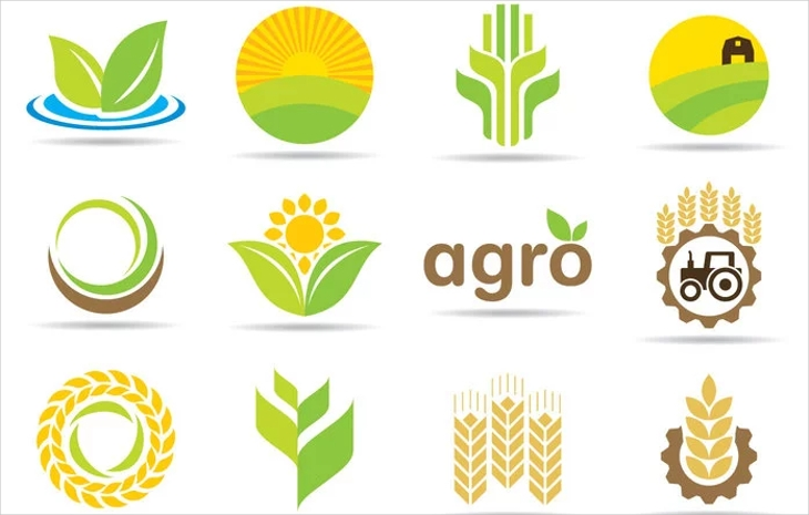 14 farming logo designs premium editable psd ai vector eps