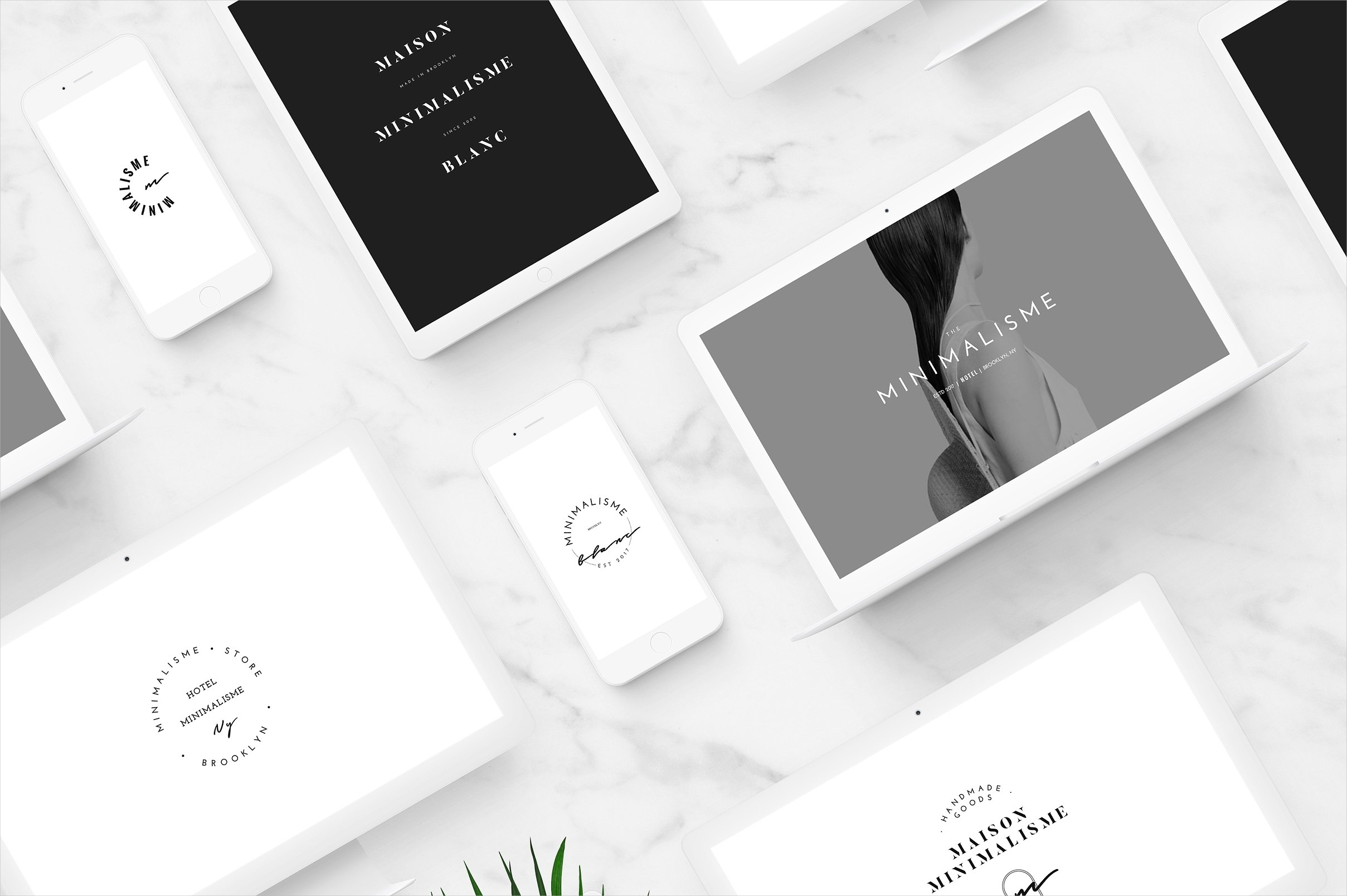 minimal fashion brand logo design
