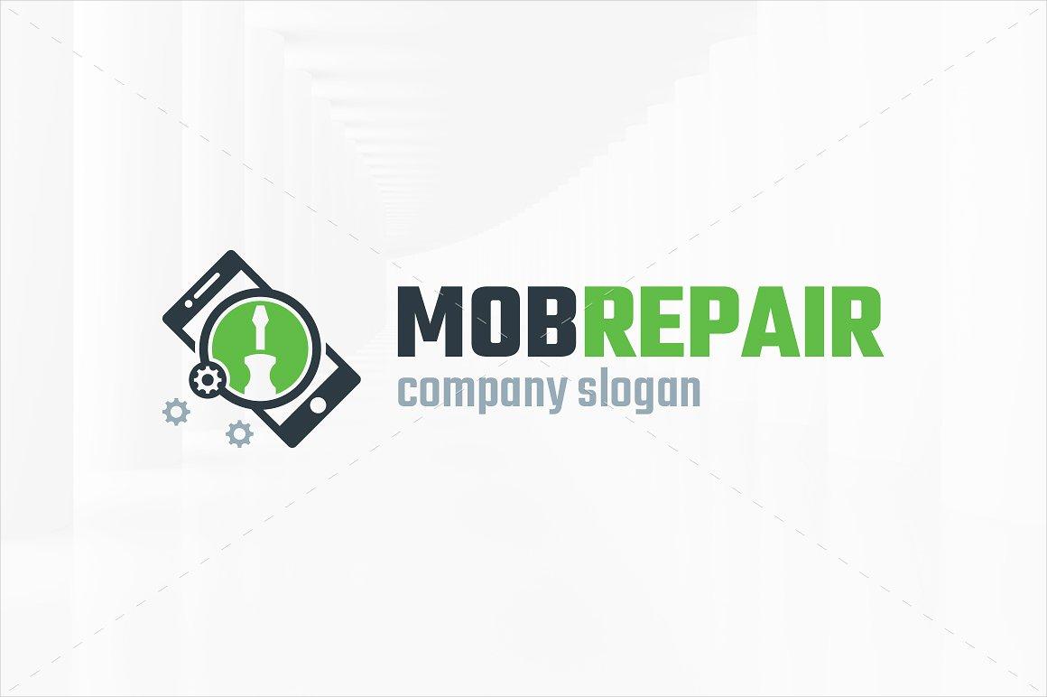 Mobile Repair App Logo Design