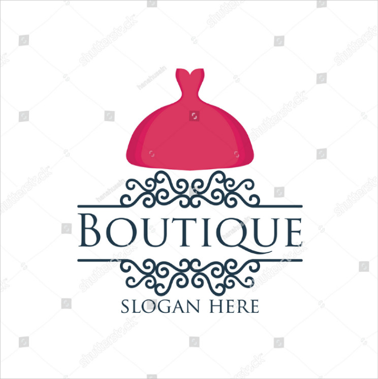 Pink-Gown-Beautiful-Boutique-Logo-Design1