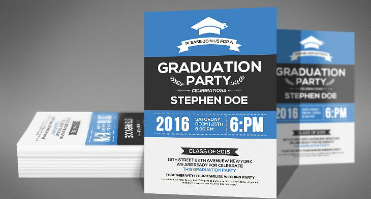 7 graduation invitation card designs design trends premium psd 8 graduation invitation card designs filmwisefo Images