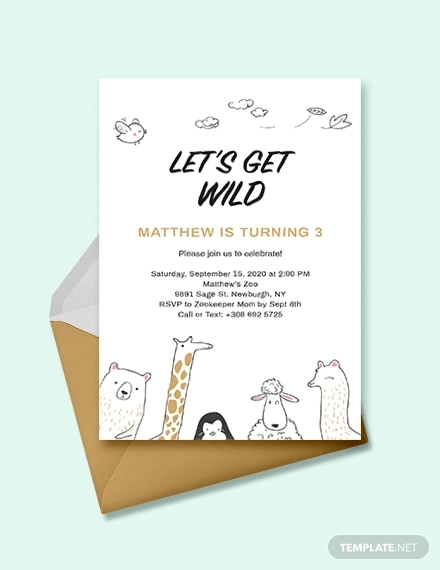 kids invitation