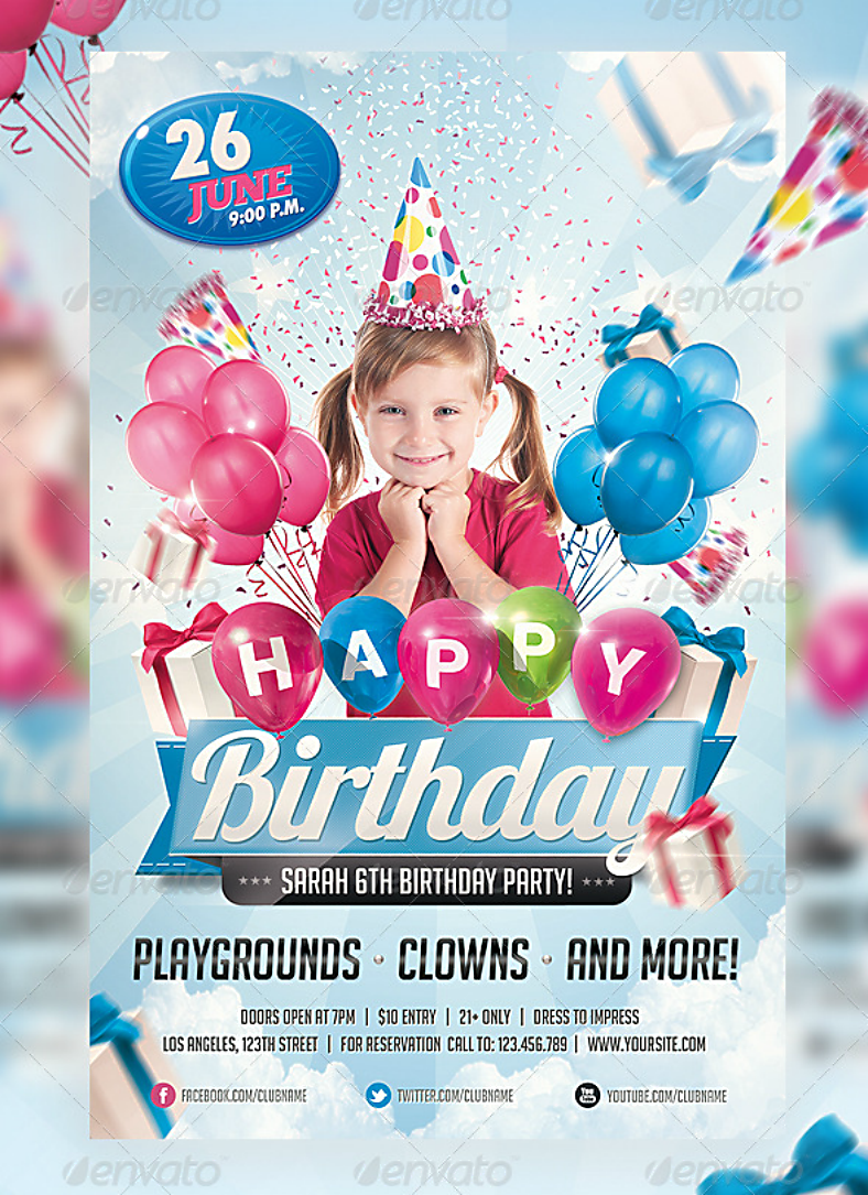 27 party invitation designs in psd design trends premium psd kids birthday party invitation design party invitation psd stopboris Choice Image