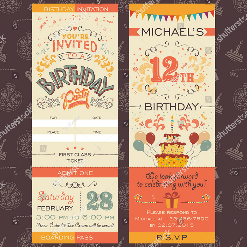 27+ Party Invitation Designs in PSD | Design Trends - Premium PSD ...