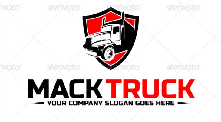 Mack Truck Company Logo Design
