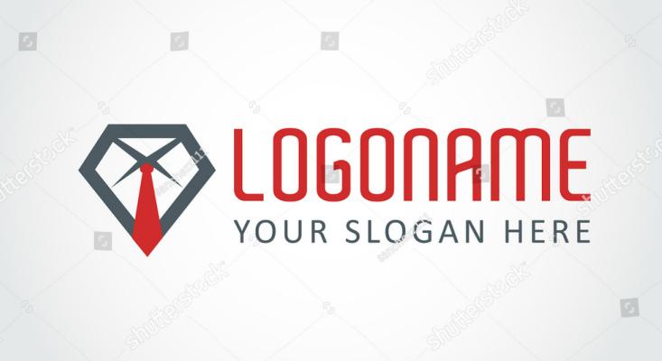 Tie Insignia Company Logo Design