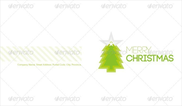 White Christmas Holiday Card Design