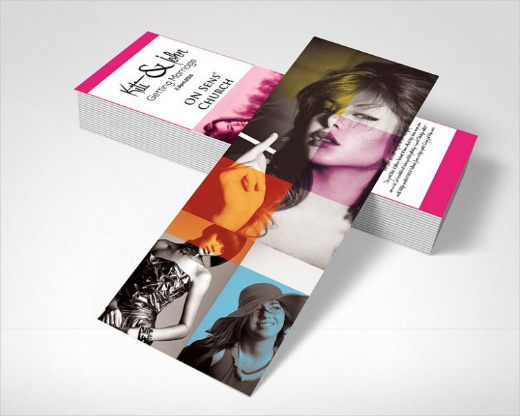 Luxurious Fashion Rack Card Design