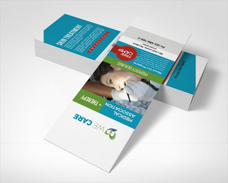 Medical Association Rack Card Design