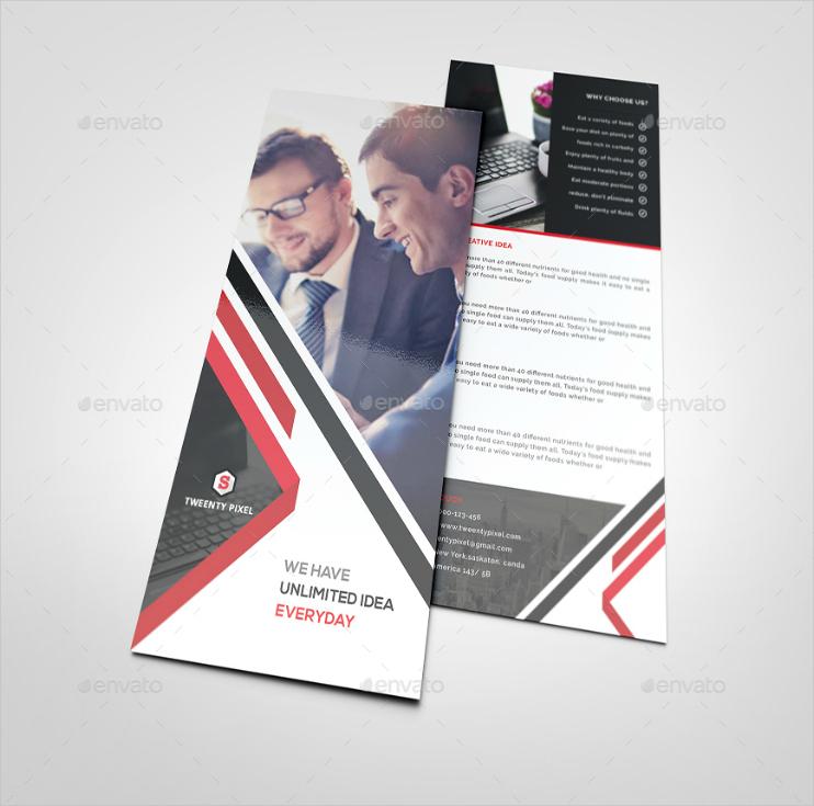 Multipurpose Business Rack Card Design