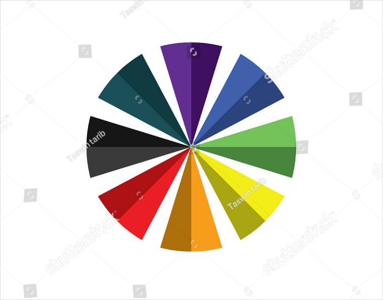 rainbow umbrella colorful logo design
