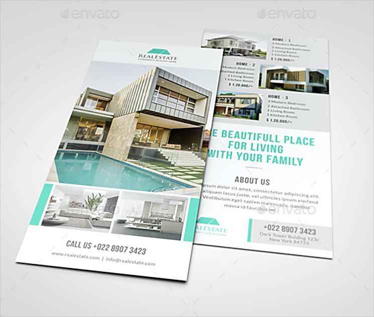 Real Estate Agent Rack Card Design