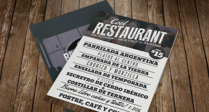16 Dinner Menu Designs Template