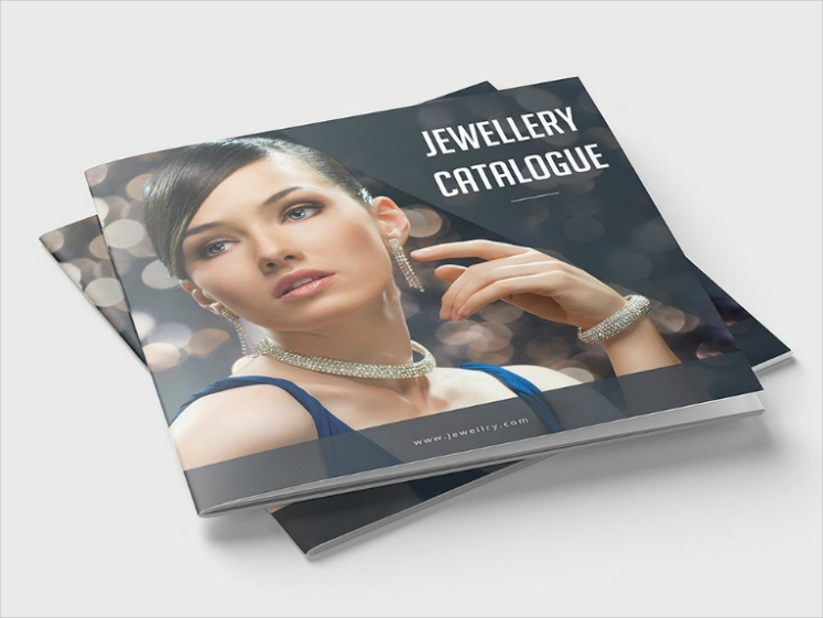 Bokeh Effects Backdrop Jewelry Catalog Design