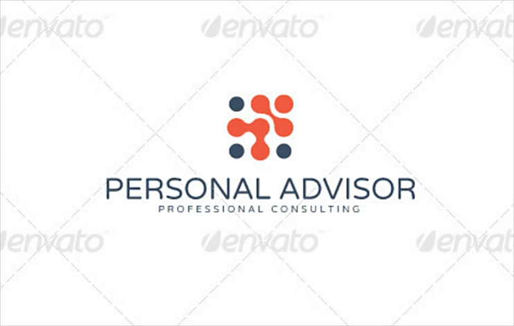 Professional Consulting Personal Logo Design