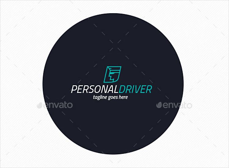 Professional Driver Personal Logo Design