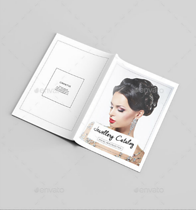 jewelry catalog design