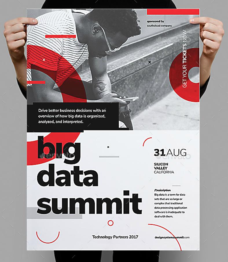 14 conference poster designs design trends premium psd vector