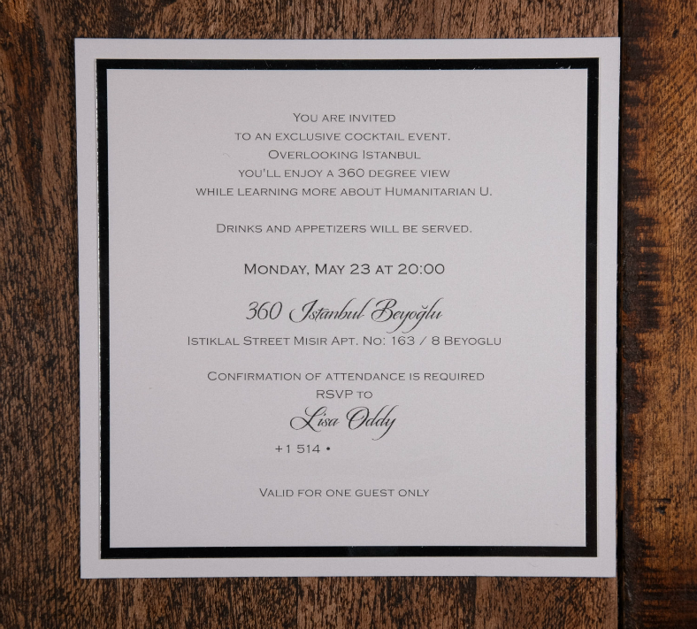 Corporate Invitation Design