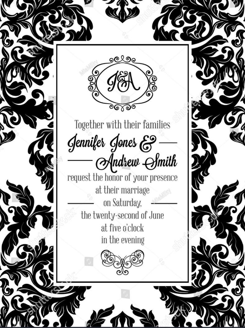 Formal Invitation Design