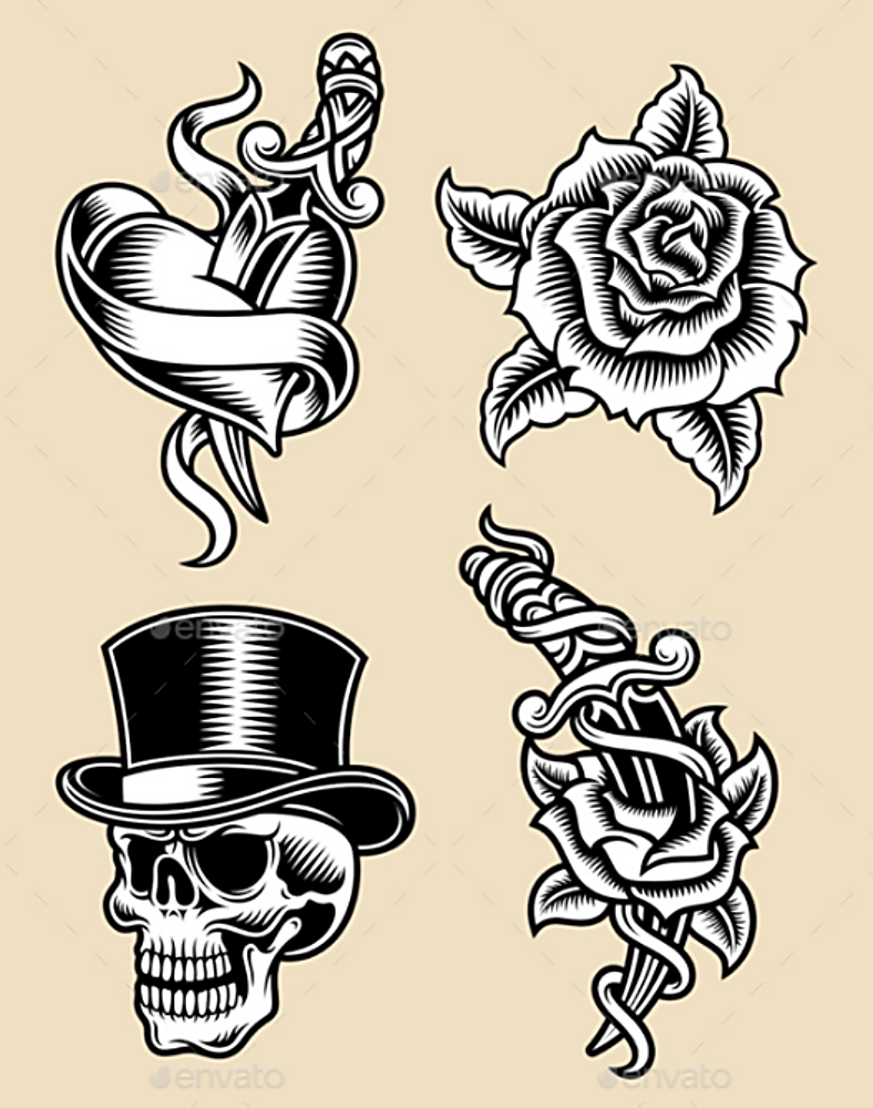 Illustration Tattoos