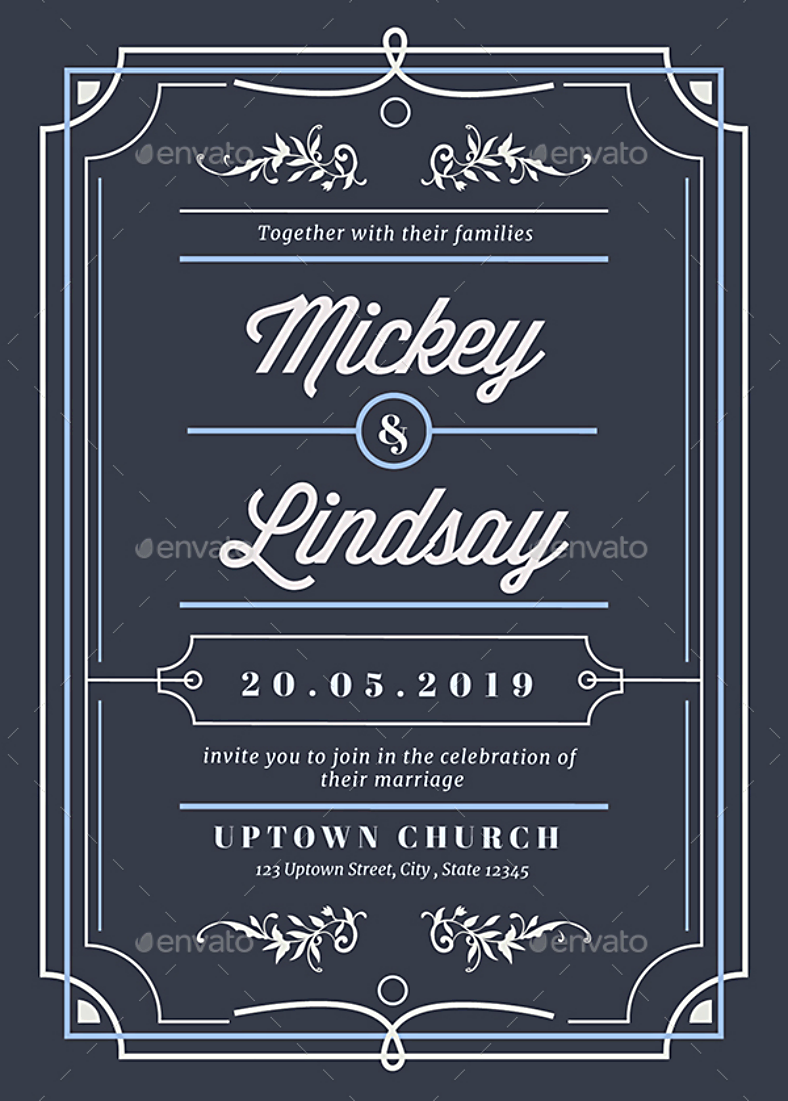 Wedding Card Design