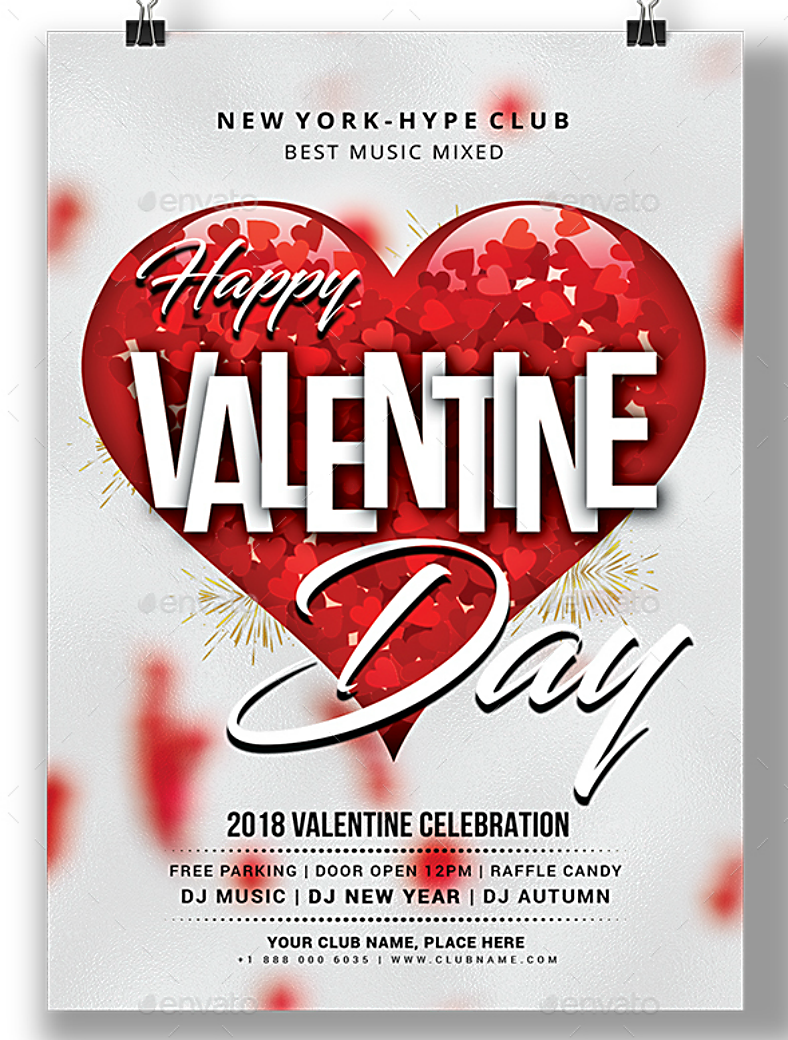 17+ Valentine\'s Day Invitation Designs | Design Trends - Premium PSD ...