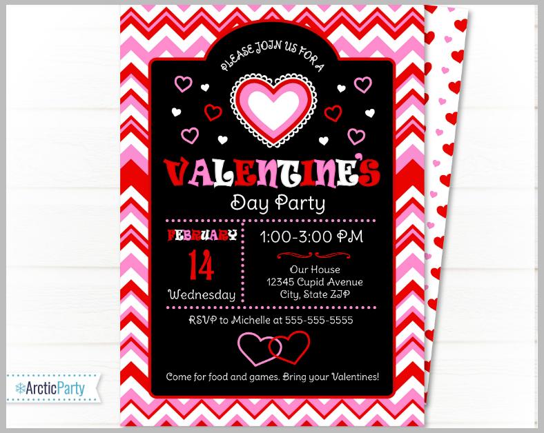 17+ Valentine\'s Day Invitation Designs | Design Trends - Premium PSD ...