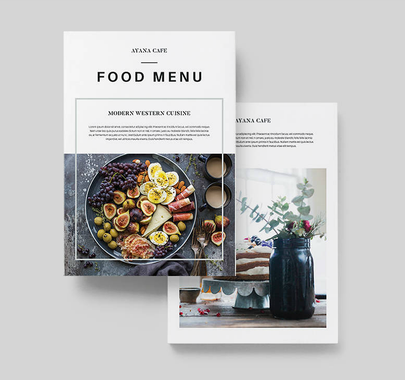 Food Catalog Designs