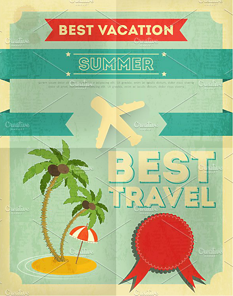 Vacation Poster Design