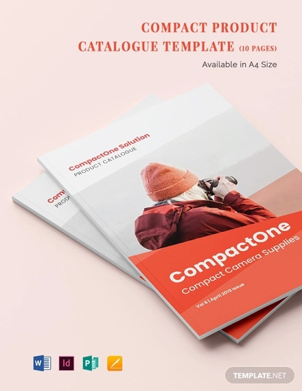 compact product catalogue template