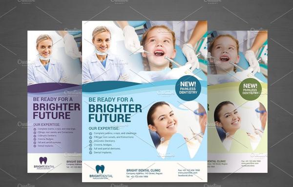 Dental Service Flyer